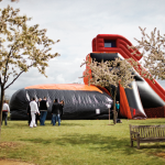 Bumping park, gonflable, team building, challenge, équipe, Paris