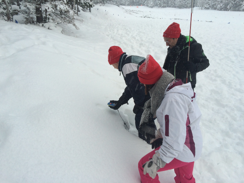 Snow game, Adventure, arva, neige, team building, équipe